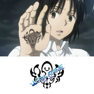 Taboo Tattoo Justice Akatsuka Cosplay Tattoo Stickers