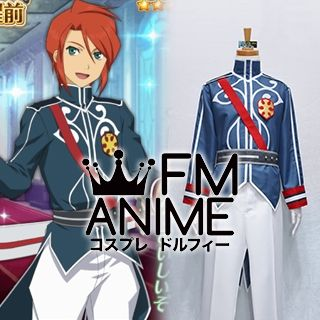 Tales of Asteria / Tales of the Abyss (series) Luke & Asch Viscount Formal Attire Cosplay Costume