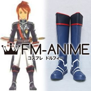 Tales of Asteria / Tales of the Abyss (series) Luke & Asch Viscount Formal Attire Cosplay Shoes Boots