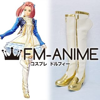 Tales of Berseria (series) Eleanor Hume Cosplay Shoes Boots