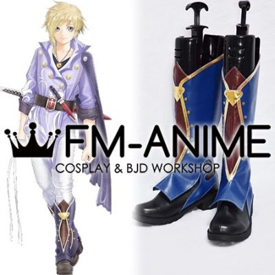 Tales of Crestoria Kanata Hjuger Cosplay Shoes Boots