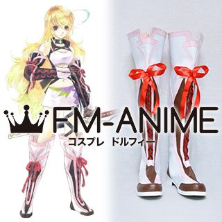 Tales of Xillia (series) Milla Maxwell Cosplay Shoes Boots