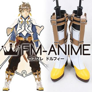 Tales of Zestiria (series) Sorey Cosplay Shoes Boots