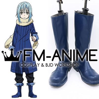That Time I Got Reincarnated as a Slime Rimuru Tempest Blue Cosplay Shoes Boots