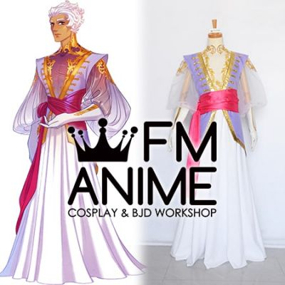 The Arcana (game) Asra Masquerade Outfits Cosplay Costume