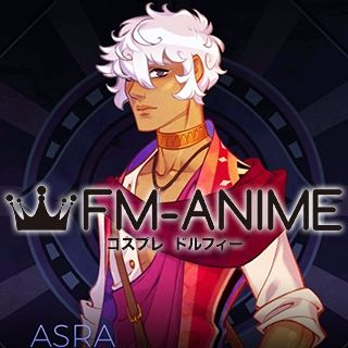 The Arcana Asra White Cosplay Wig