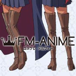 The Familiar of Zero Kirche von Zerbst Cosplay Shoes Boots
