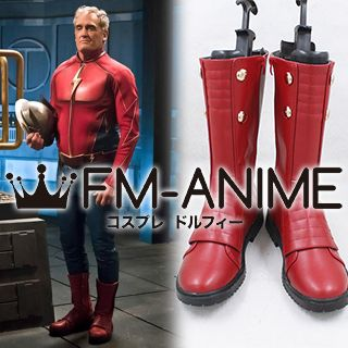 The Flash (TV Season 2) Jay Garrick Cosplay Shoes Boots