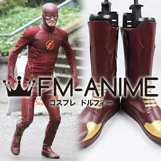 The Flash (TV series) Barry Allen Cosplay Shoes Boots