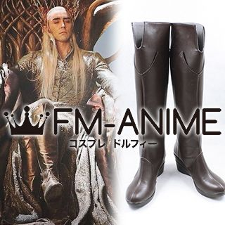 The Hobbit: The Desolation of Smaug Thranduil Cosplay Shoes Boots