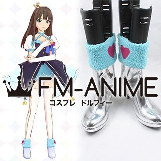 The Idolmaster / The iDOLM@STER Cinderella Girls Uzuki Shimamura My First Star Cosplay Shoes Boots
