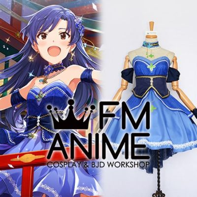 The Idolm@ster Million Live! Chihaya Kisaragi A Wish In The Light of New Year Cosplay Costume