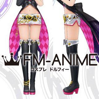 The Idolmaster: Cinderella Girls Starlight Stage Mika Jougasaki Heart★Overflow Cosplay Shoes Boots