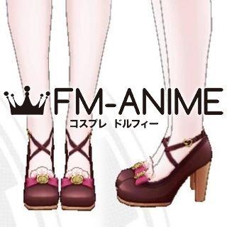 The Idolmaster / The iDOLM@STER Cinderella Girls Uzuki Shimamura Smile and Treat Cosplay Shoes