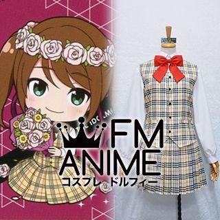 The Idolmaster / THE iDOLM@STER: SideM Saki Mizushima Cafe Parade Uniform Cosplay Costume