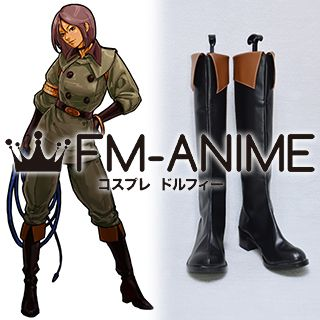 The King of Fighters Whip Seirah Cosplay Shoes Boots