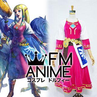 The Legend of Zelda: Skyward Sword Princess Zelda Cosplay Costume