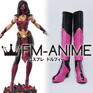 The Mortal Kombat Mileena Cosplay Shoes Boots