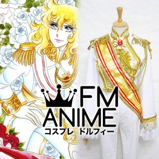 The Rose of Versailles Oscar Cosplay Costume (White Version)