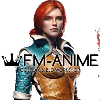 The Witcher 3: Wild Hunt Triss Merigold Cosplay Wig