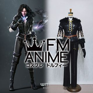 The Witcher 3: Wild Hunt Yennefer Cosplay Costume