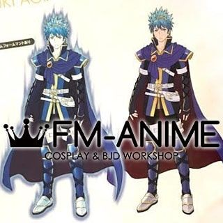 Tokyo Mirage Sessions #FE Itsuki Aoi Marth Form Cosplay Costume