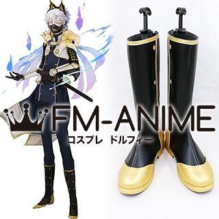 Touken Ranbu Nakigitsune Kiwame Cosplay Shoes Boots