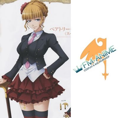 Umineko no Naku Koro ni Beatrice Cosplay Tattoo Stickers