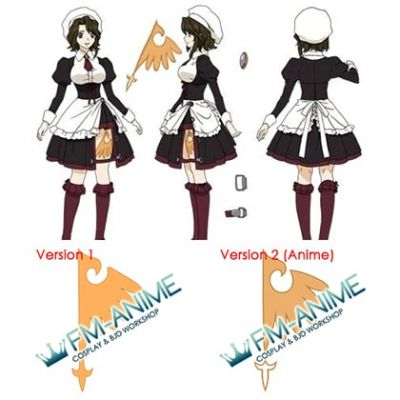 Umineko no Naku Koro ni Shannon Cosplay Tattoo Stickers