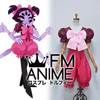 Undertale Muffet Cosplay Costume