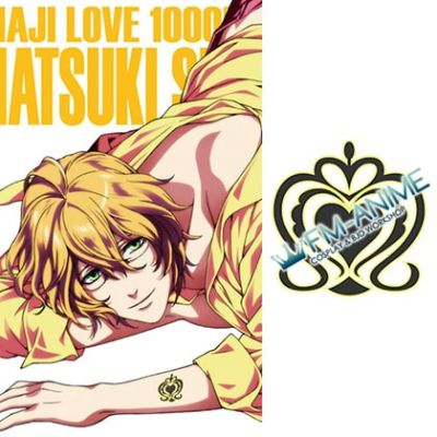 Uta no Prince-sama Natsuki Shinomiya Cosplay Tattoo Stickers