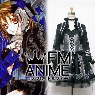 Vampire Knight Yuki Cross Lolita Cosplay Costume