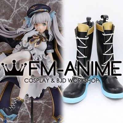 Virtual YouTuber Kagura Mea Cosplay Shoes Boots