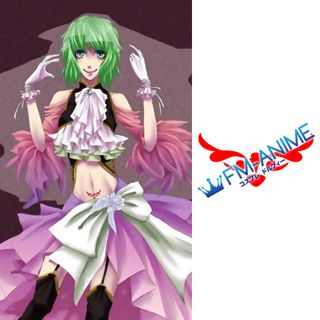 Vocaloid Gumi Megpoid Sandplay Singing of the Dragon Cosplay Tattoo Stickers