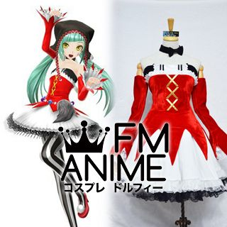 Vocaloid Hatsune Miku Project Diva Cat Food Cosplay Costume