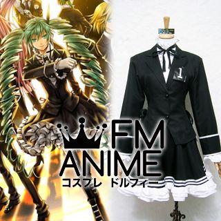 Vocaloid Hatsune Miku Secret Police Cosplay Costume