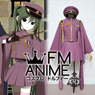 Vocaloid Hatsune Miku Senbonzakura Military Uniform Cosplay Costume