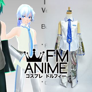 Vocaloid Hatsune Mikuo Snow Version Cosplay Costume