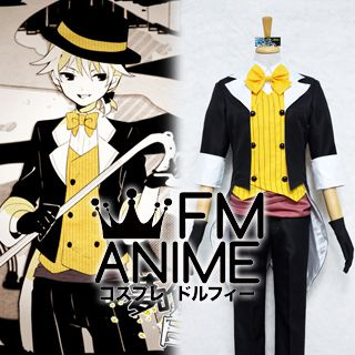 Vocaloid Kagamine Len Dream - Eating Monochrome Baku Cosplay Costume