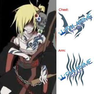 Vocaloid Kagamine Len Grave Sending Song Cosplay Tattoo Stickers