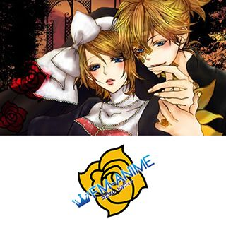 Vocaloid Kagamine Len Perfect Garden ~Romance Touch~ Cosplay Tattoo Stickers (50 Pieces)