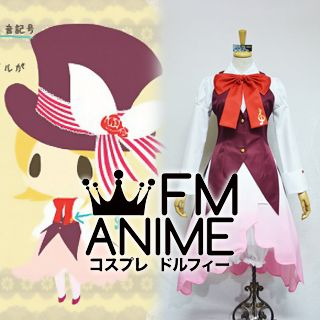 Vocaloid Kagamine Rin Alice in Musicland Cosplay Costume