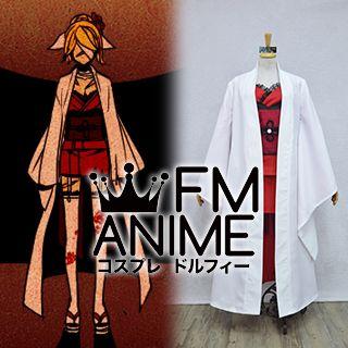 Vocaloid Kagamine Rin Karakuri Burst Kimono Cosplay Costume