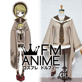 Vocaloid Kagamine Rin Senbonzakura Military Uniform Cosplay Costume