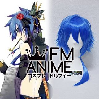 Vocaloid Kaito Fleeting Moon Flower Cosplay Wig