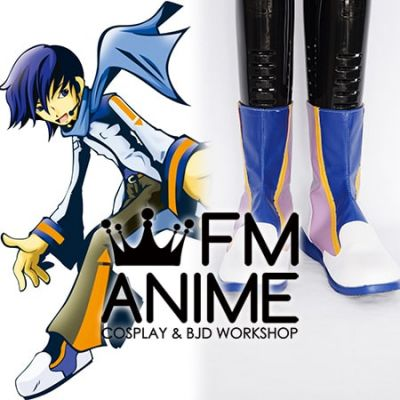 Vocaloid Kaito Format Cosplay Shoes Boots