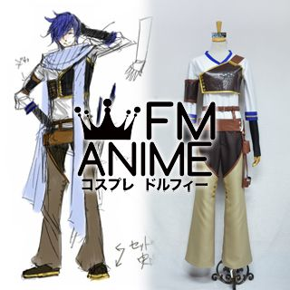 Vocaloid Kaito Synchronicity Cosplay Costume