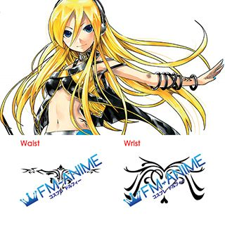 Vocaloid Lily Cosplay Tattoo Stickers