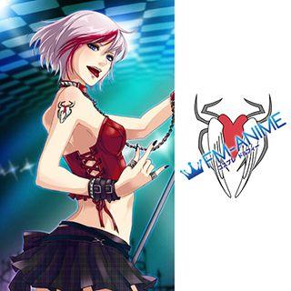 Vocaloid Sakerune Meiko TypeH Cosplay Tattoo Stickers