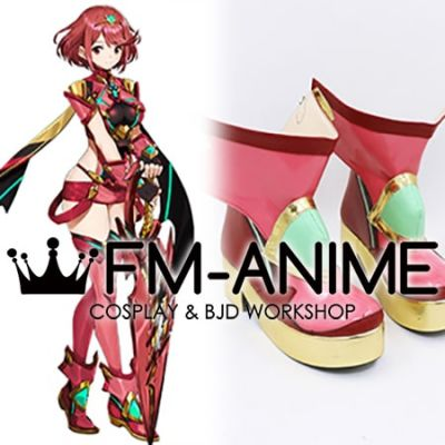 Xenoblade Chronicles 2 Pyra Cosplay Shoes